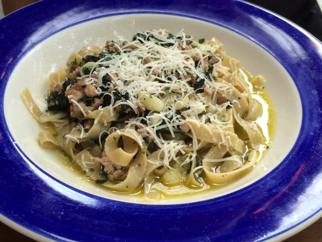 Pasta of the day at Peplino