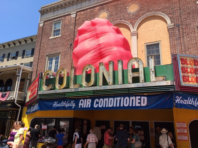 Colonial Theatre from the Blob