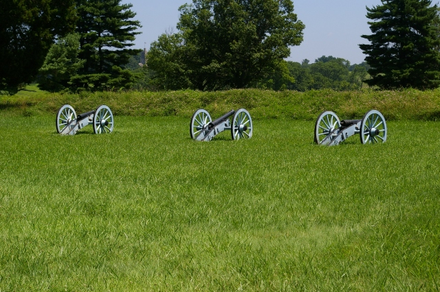 Cannons in Valley Forge
