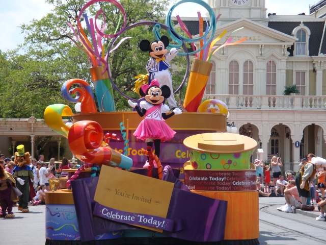 Parade in Magic Kingdom
