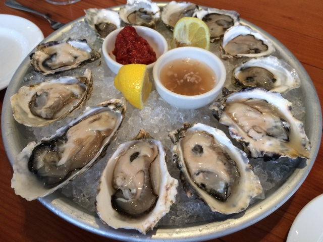 Oysters at The Kitchen