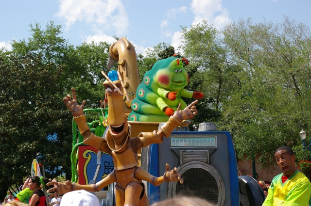 Parade in Animal Kingdom