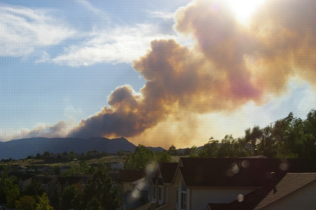 Waldo Canyon Fire Day One