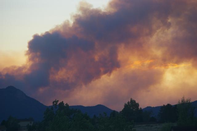 Waldo Canyon Fire Moving North