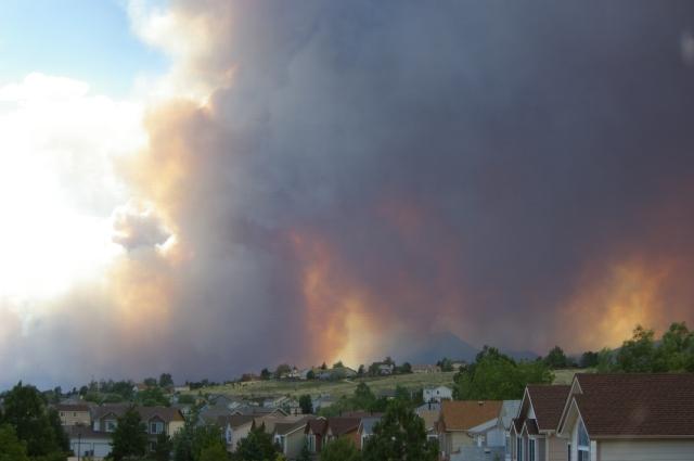 Waldo Canyon Fire Spreads