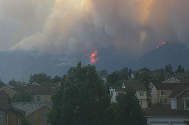 Waldo Canyon Fire Heads Towards Mountain Shadows