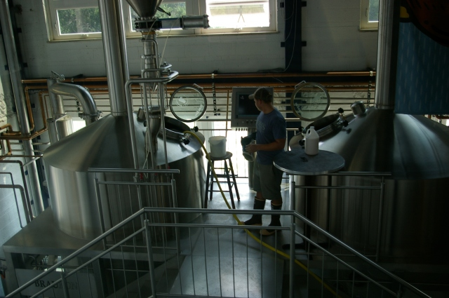 Brew Master at Bristol Brewing Company