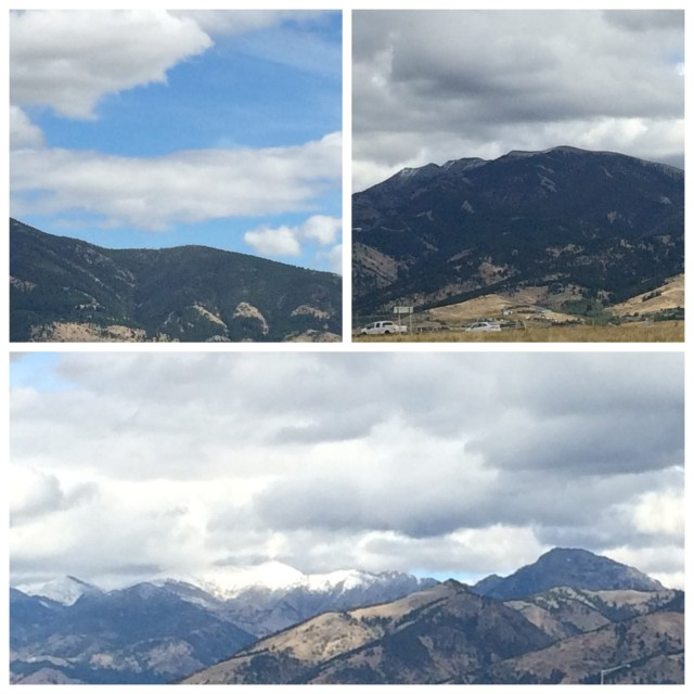 Mountain Ranges Around Bozeman