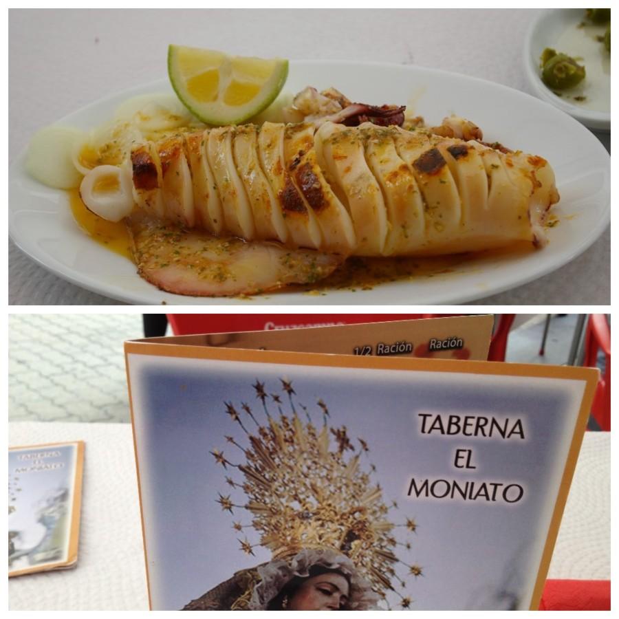 Grilled Octopus in Spain
