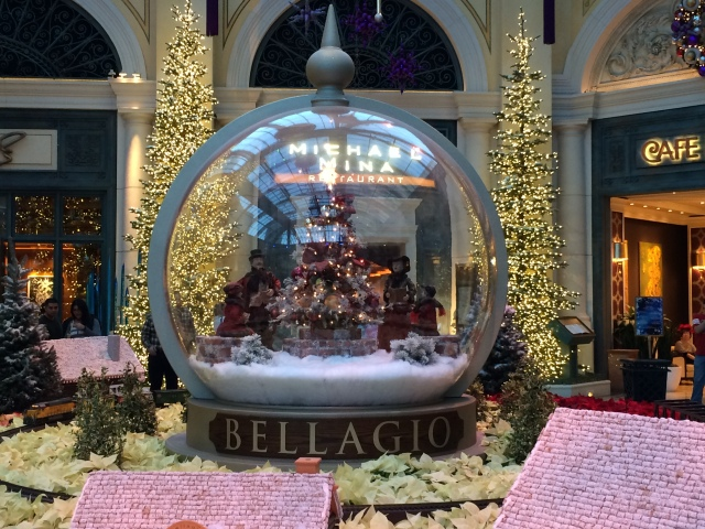 Decorations at the Bellagio
