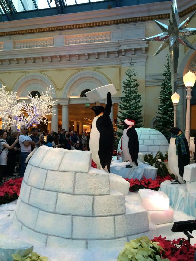 Penguins at the Bellagio