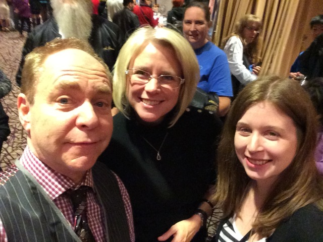 Dona and Our Daughter with Teller