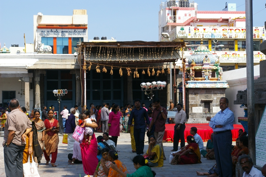 Temple Prayer Booth in Chennai India