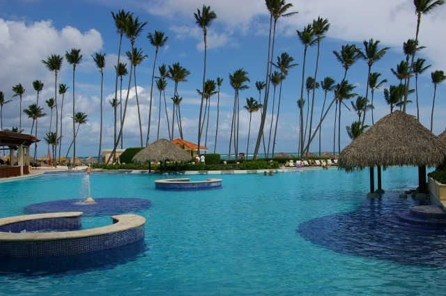 Resort in Punta Cana in the Dominican Republic