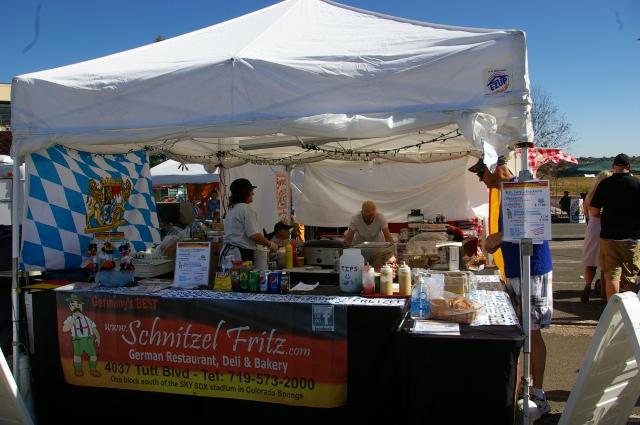 Weiner Schnitzel Vendor