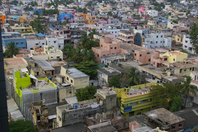 Neighborhood in Chennai