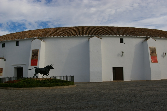 Bullfighting Ring in Rhonda