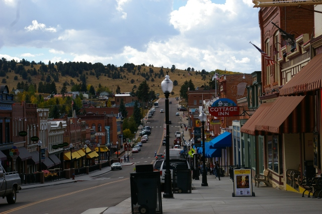 Main Street in Cripple Creek