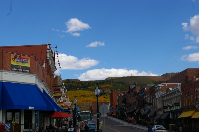 Cripple Creek Nestled in the Mountains