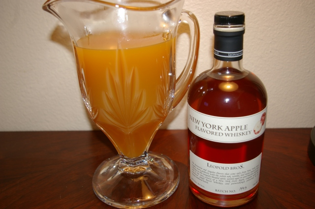 Mulled Cider and Apple Whiskey