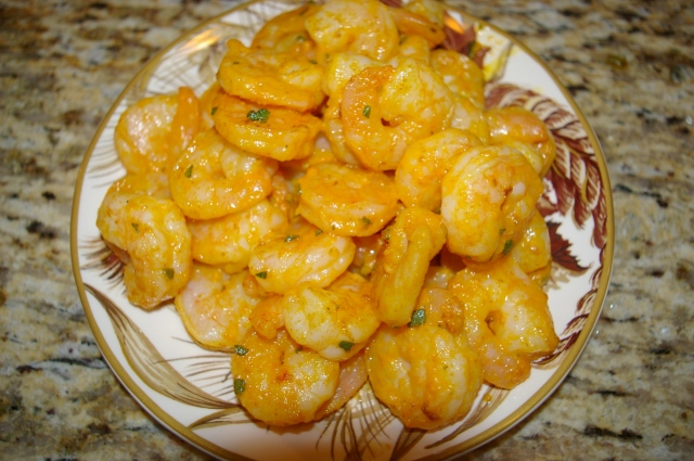 Pumpkin-Sage Shrimp