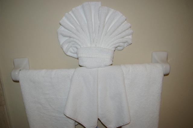 Sea Shell Towel
