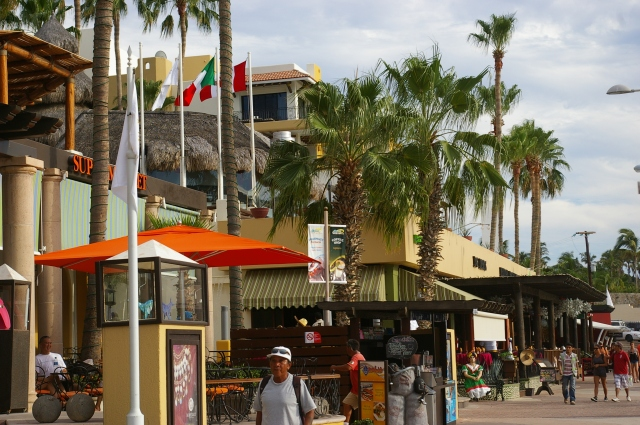 Restaurants in the Marina