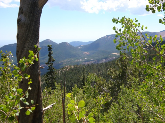 View from Barr Trail