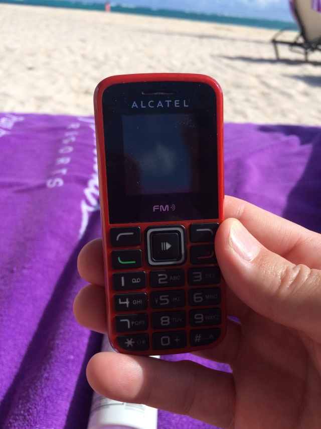 Cell Phone for the Concierge