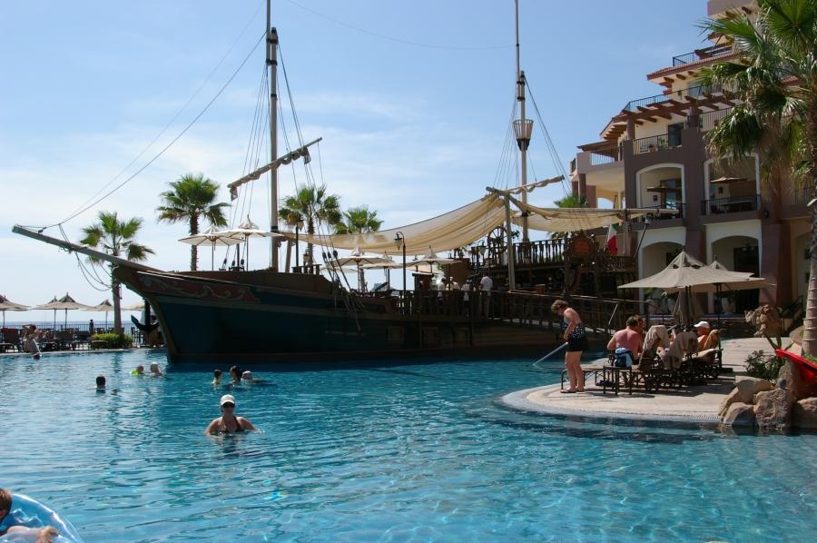 Pirate Ship at the Villa Del Arco