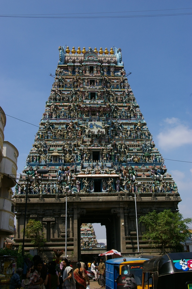 Kapaleeshwarar Temple in Chennai, India