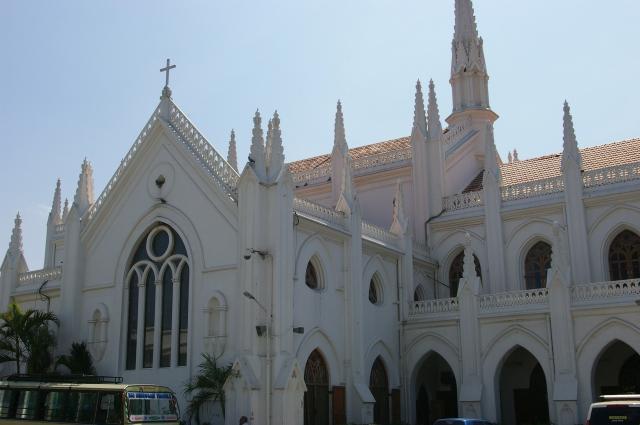 Saint Thomas Church in Chennai, India