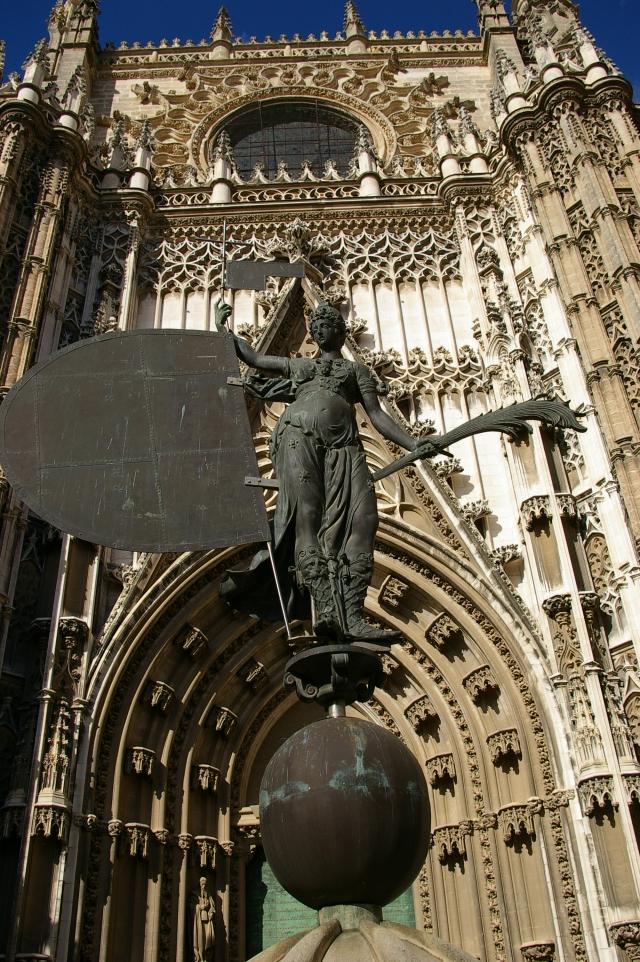 Seville Cathedral in Seville, Spain