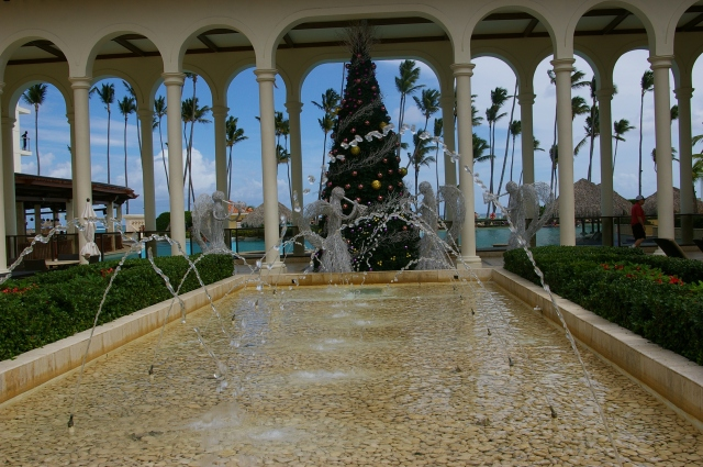 Fountain at the Resort