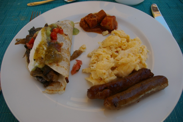 Breakfast from the Buffet
