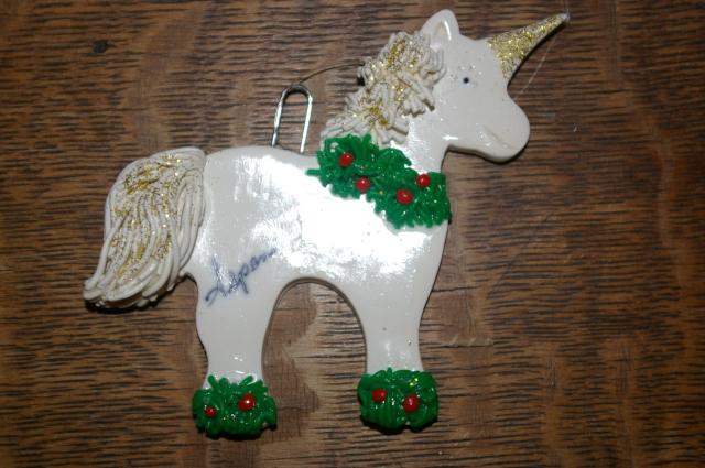 Unicorn Ornament from Aspen Colorado
