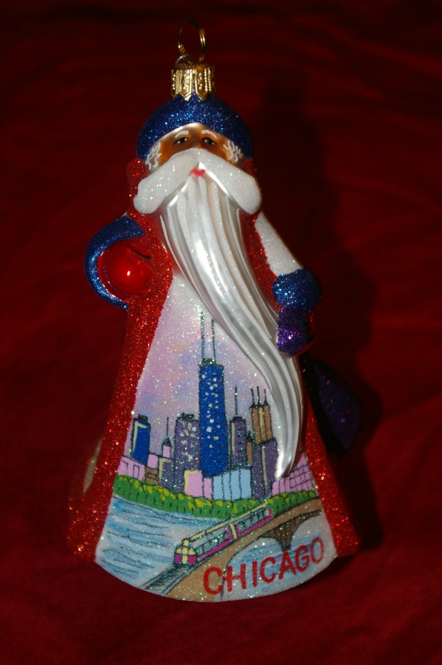 Christmas Ornament from Chicago