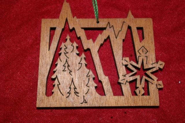 Ornament from Aspen Colorado