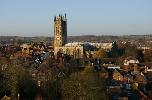 St. Mary's Church in Warwick, England