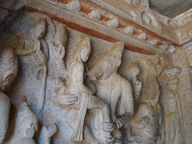 More Carvings at Mahabalipuram