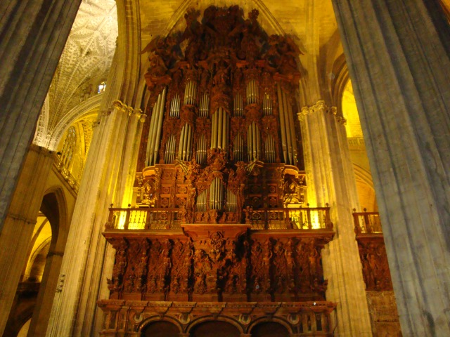 Organ Inside the Cathedral