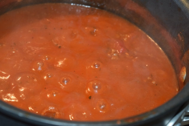 Tomato and Meat Sauce