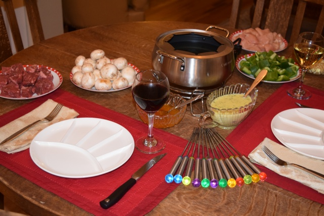 Fondue Table