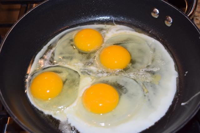 Eggs in Skillet