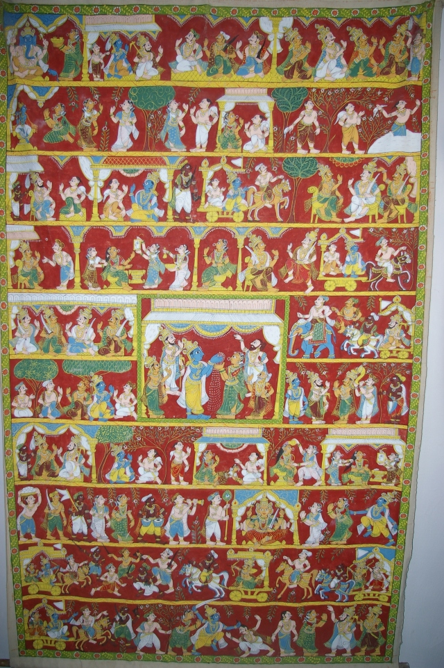 Hindu Tapestry at DakshinaChitra