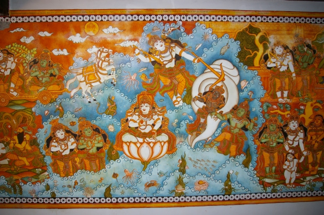 Artwork at DakshinaChitra