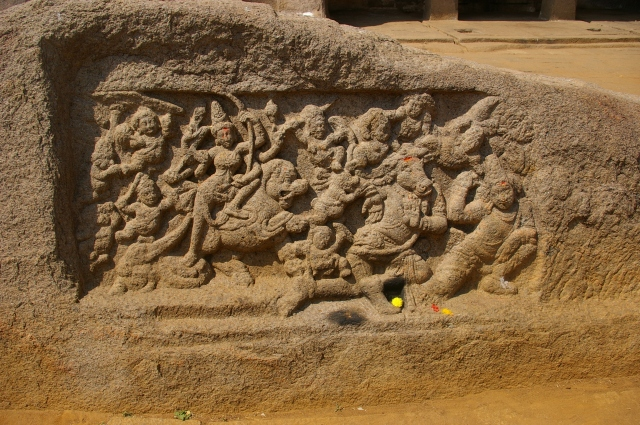 Relief Carvings at Tiger Cave