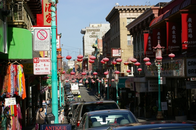 Grant Avenue, the Main Street in Chinatown