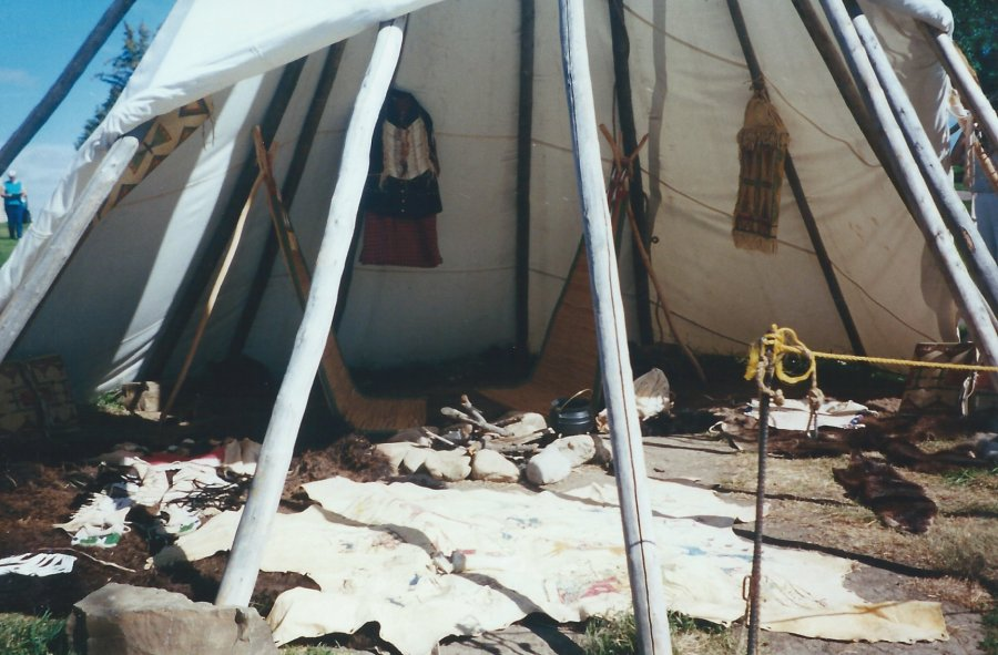 Representation of a Soldier's Tent