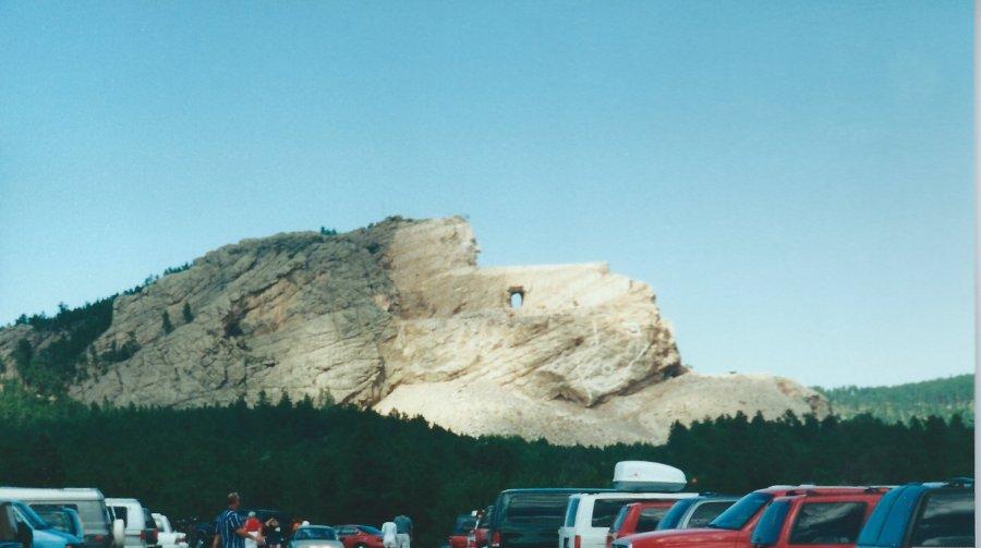Crazy Horse Statue